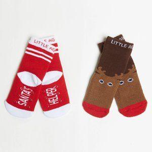 Arthur George Santa Reindeer Christmas Socks